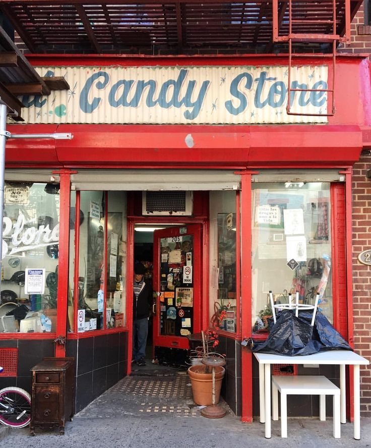 A Candy Store in the East Village. NYC