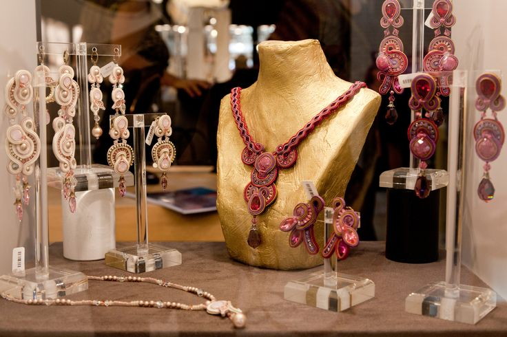 Dori Csengeri collection   www.aibijoux.com #doricsengeri #fashionjewelry #HOMI15 #HomiMilano #AIBIJOUX