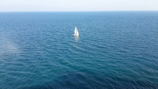 Eternal sea sailing freedom