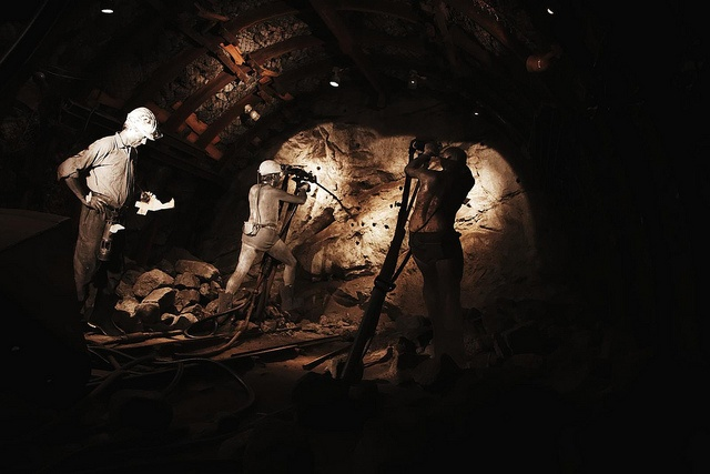 Coal mining.I come from a coal mining family Both of my Grandfathers were coal miners in WV.