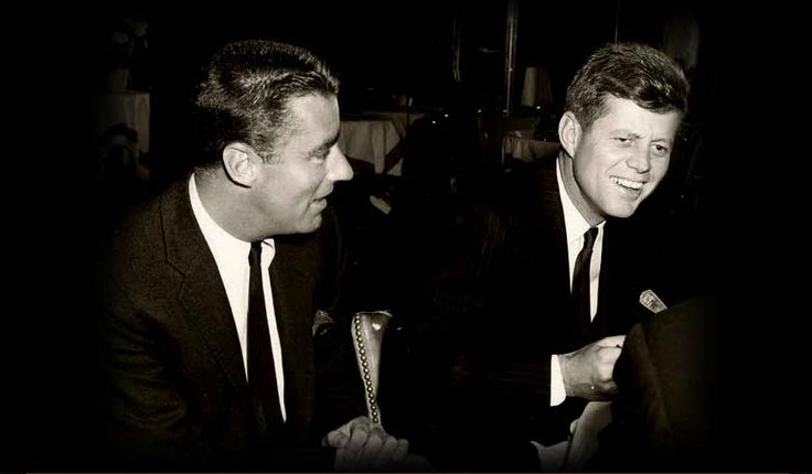 Peter Lawford and JFK.  The Caledonian Mining Expedition Company