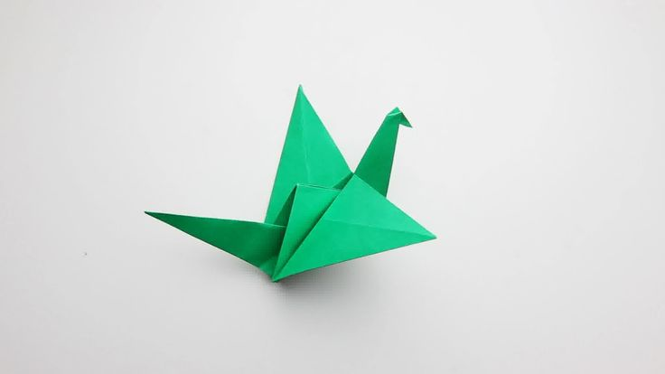 Origami flapping bird - great revision break!