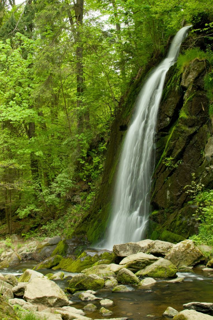 Vodopád - Terčino údolí