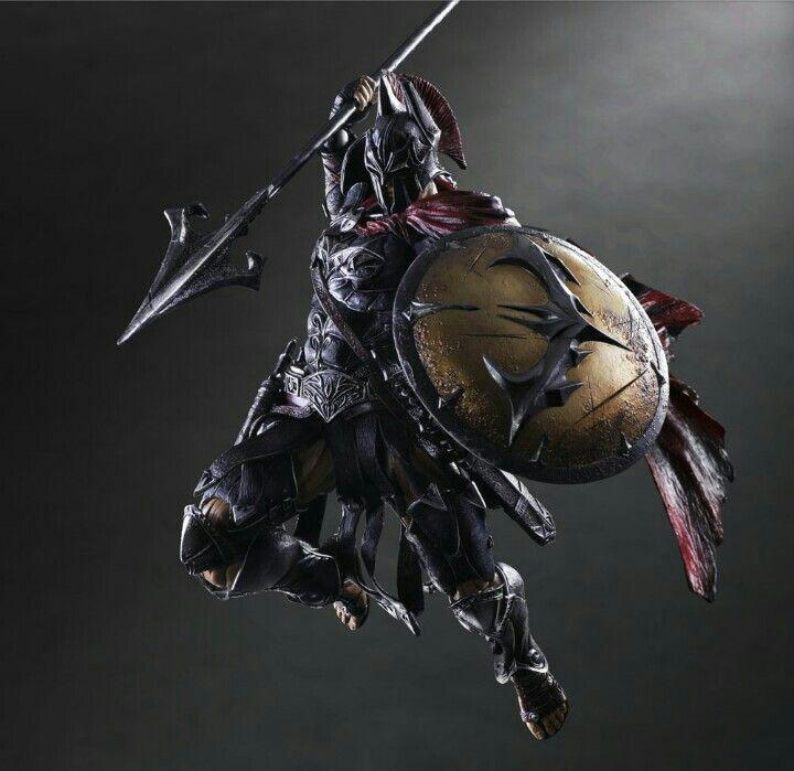 Play Arts Variant Kai's Spartan Batman    WANT!!!