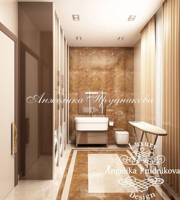Дизайн загородного дома в стиле арт-деко в КП «Липки» - фото