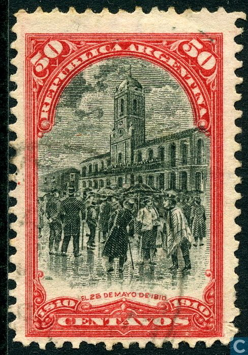 Argentina [ARG] - 100 years Onafhankelijkeid 1910