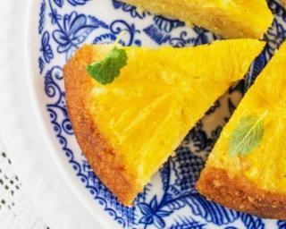 Gâteau renversé à l'orange sans beurre ajouté : http://www.fourchette-et-bikini.fr/recettes/recettes-minceur/gateau-renverse-a-lorange-sans-beurre-ajoute.html