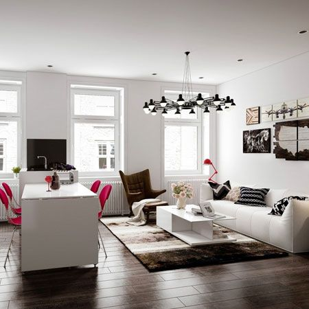 #KBHomeTucson chic studio apartment ideas