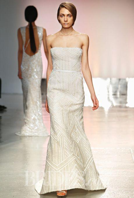 Brides.com: . Wedding dress by Rivini