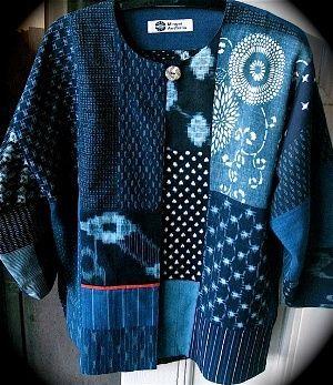 Current design using the traditional Japanese indigo materials.: