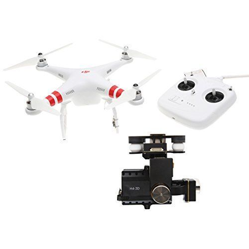 DJI Phantom 2 Quadcopter V2.0 Bundle, 3-Axis Zenmuse H4-3D Gimbal for GoPro Hero 4 Black (White) #phantom3dronephotography