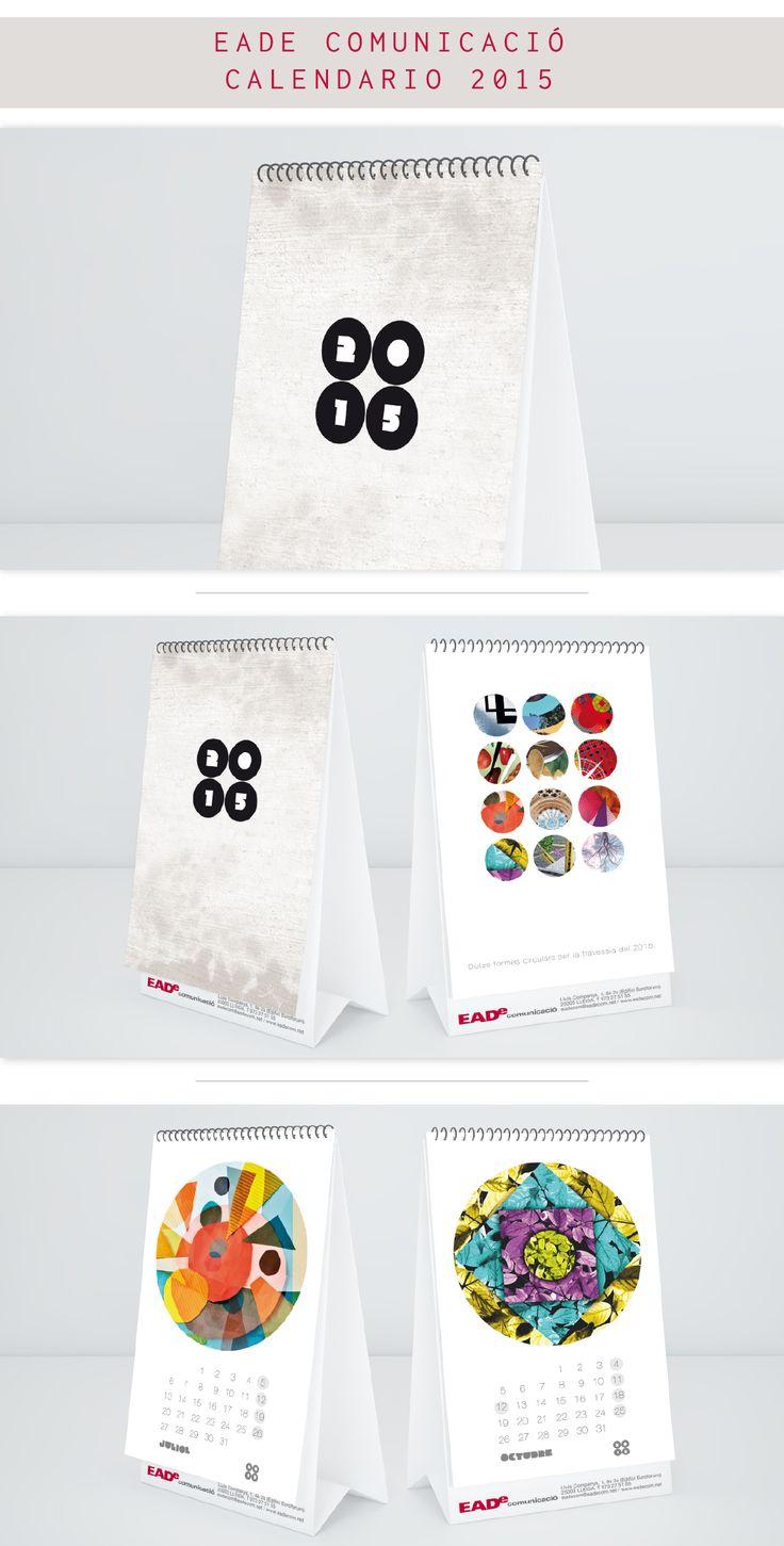 Diseño del calendario 2015 para la empresa EADe Comunicació