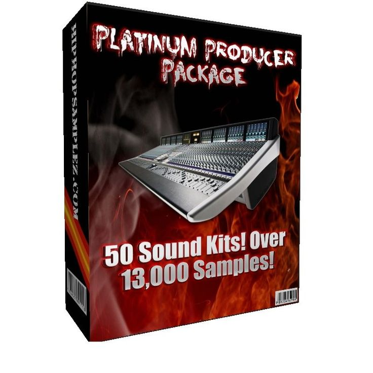 The Platinum Producer Pack is the LARGEST collection of hip hop samples you will find online! Get this and make ALBUMS worth of professional productions that can make you the hottest new beat maker. After payment, you get access to over 13,000 high quality, radio ready wav and soundfont samples plus