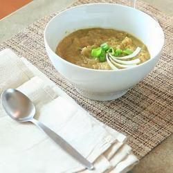 Cauliflower and Leek Vegetable Soup