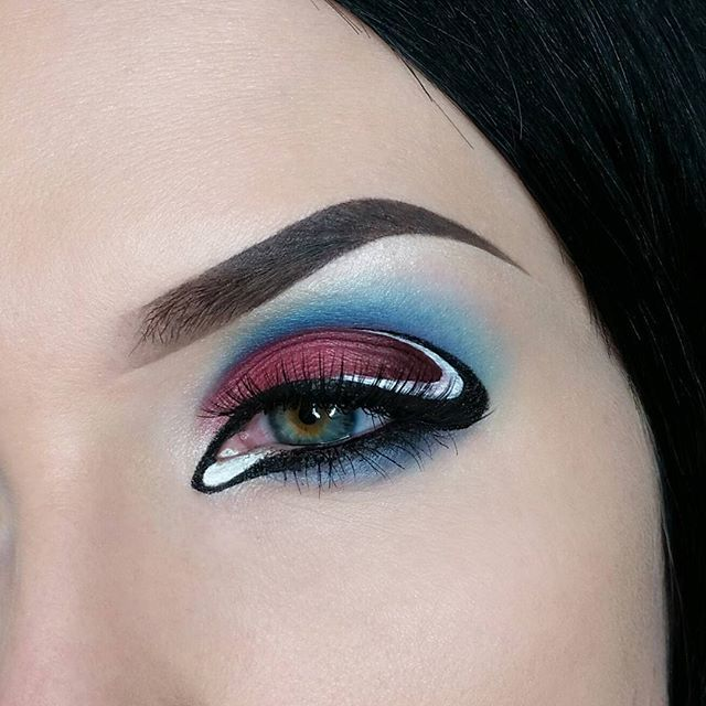 Pokemon Go!  Been a little preoccupied lately, but can you blame me?  These pokemon aren't going to evolve themselves! Anyway, here is a Pokemon themed makeup look because I'm sure you haven't been seeing enough about it on social media lately 😉  Oh and by the way.... #goteamvalor