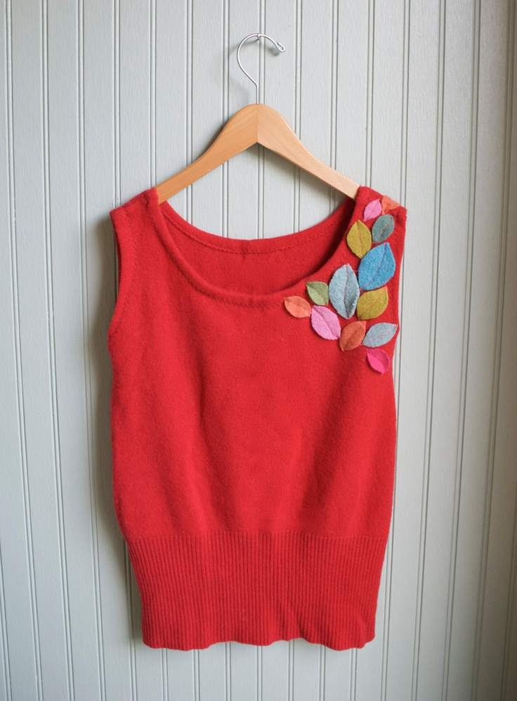 Girl's Cashmere Tunic Sweater///6-10 year size. $56.00, via Etsy.