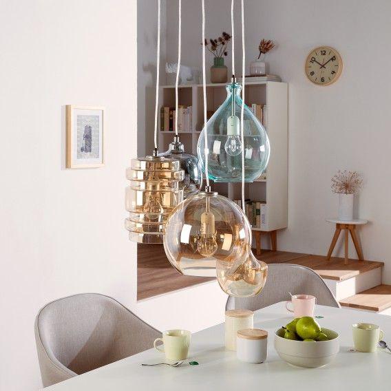 hängeleuchte küche   hängelampe esstisch glas
