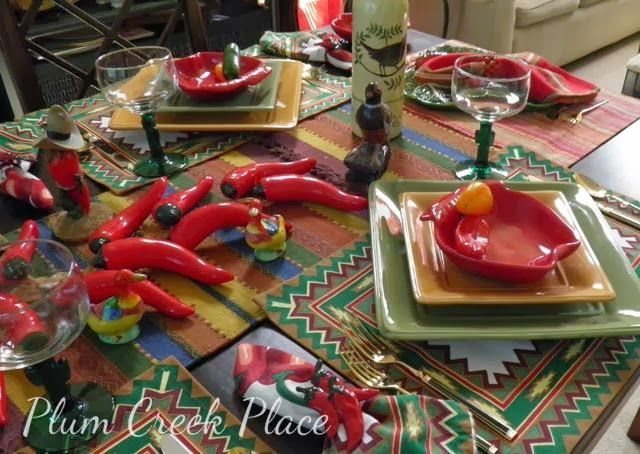 77 best cinco de mayo fiesta images on pinterest table settings tablescapes and fiesta party. Black Bedroom Furniture Sets. Home Design Ideas