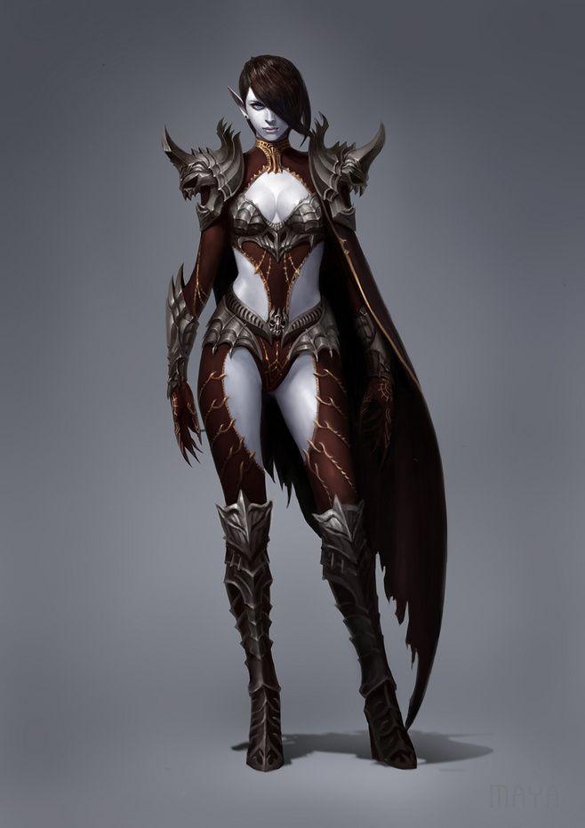 Accept. interesting Fantasy nudes elf vampire assassin