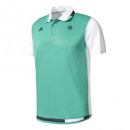 ADIDAS Tsonga / Berdych's 2017 Roland-Garros adidas tennis polo - green - Order your Roland Garros merchandise on the official French Open online Store : souvenirs, tennis apparel for men, women & children, tennis equipment. International payment methods, international shipping & easy returns. Find the largest choice of Roland Garros merchandise on store.rolandgarros.com.