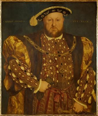 IMAGE K:  Creator: Hans Holbein the Younger Title:Henry VIII Work Type:painting Repository:Galleria nazionale d'arte antica (Italy) Collection:Italian and other European Art (Scala Archives) Source:Image and original data provided by SCALA, Florence/ART RESOURCE, N.Y.