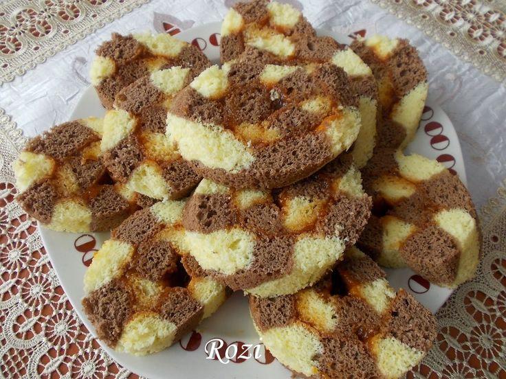 Rozi Erdélyi konyhája: Csíkos piskóta