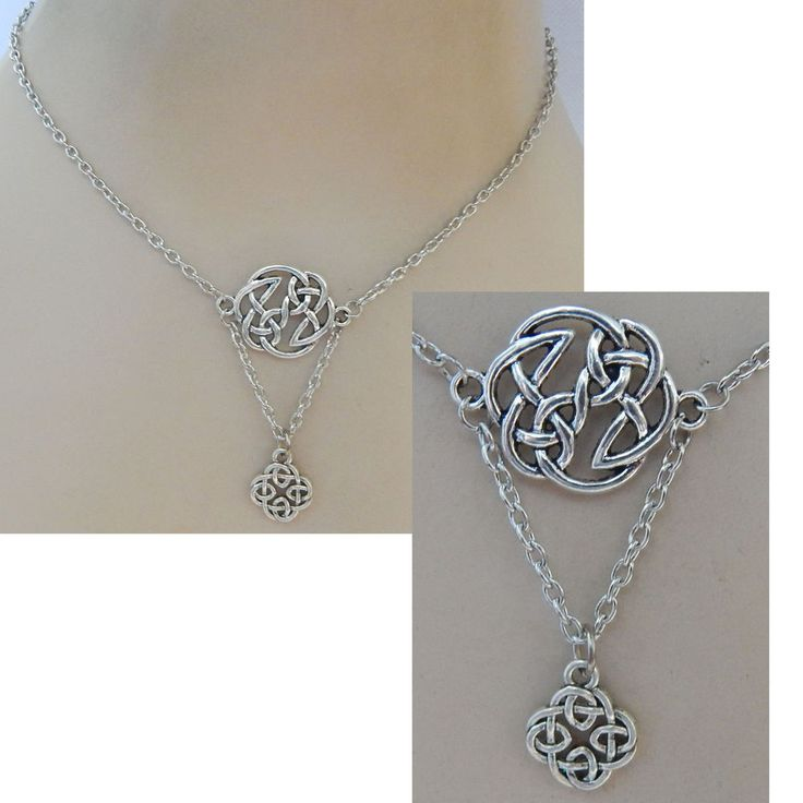 Silver Celtic Knot Pendant Necklace Jewelry Handmade NEW Chain Accessories  #Handmade #Pendant https://www.ebay.com/itm/162784285112