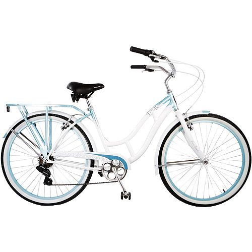 Schwinn Beach Cruiser Point Women S 26 Blue I Like The Colors But Wish It Was One Sd And Had A Fun In Sun Pinte