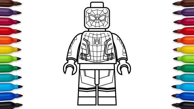 27 Beautiful Picture Of Lego Spiderman Coloring Pages Spiderman