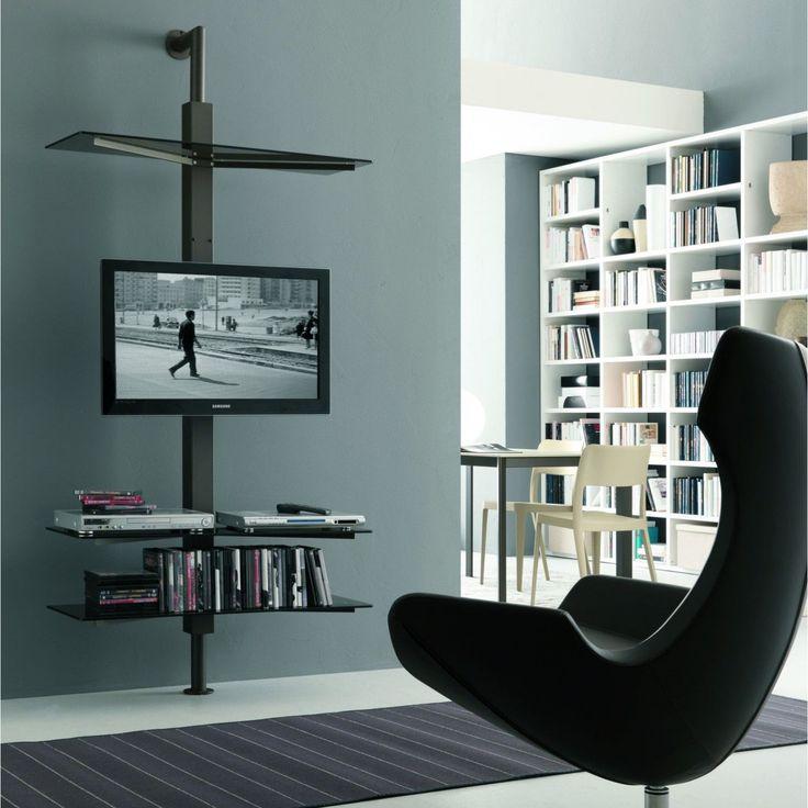 Oltre 25 fantastiche idee su mensole su pinterest - Porta tv a parete orientabile ...