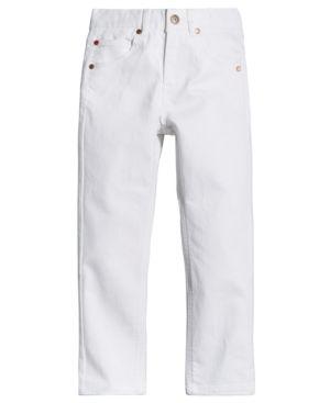 Tommy Hilfiger Slim-Fit Edge Jeans, Big Boys (8-20) - White 20R