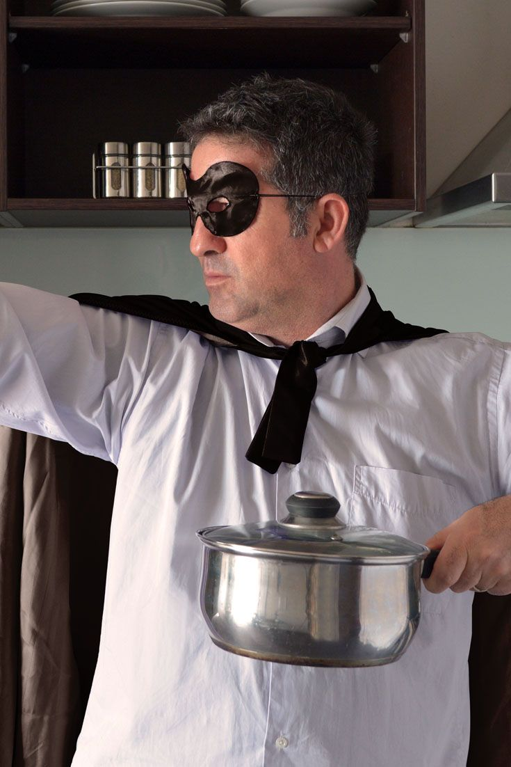 How to Be Batman... in Your Kitchen! http://www.omahasteaks.com/dads/be-batman-of-your-kitchen?SRC=RZ0637 Your kitchen's a far cry from Gotham City, but with these tools close at hand you can be confident that you'll always be prepared — day or night — to save your little corner of the world from the relentless forces of H.U.N.G.E.R. 🦇 💪