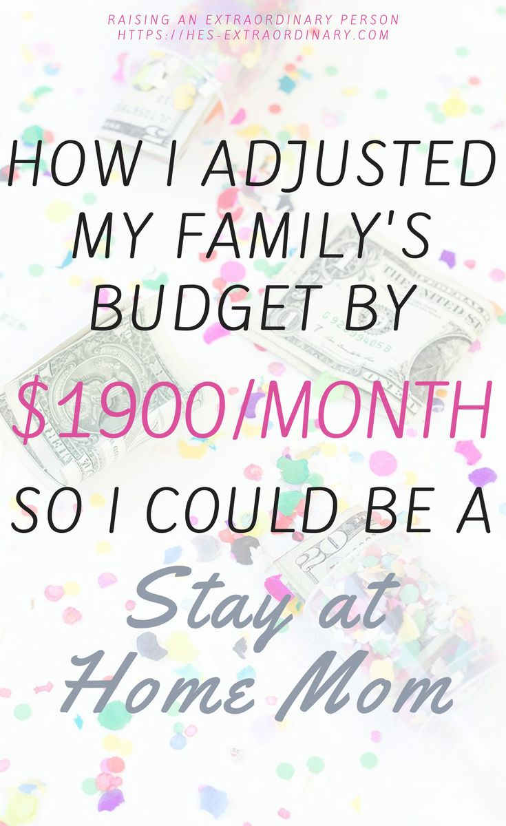 How I adjusted my family's budget so I could afford to be a stay at home mom. Learn these easy things that you can start doing today to lower your budget without sacrificing.