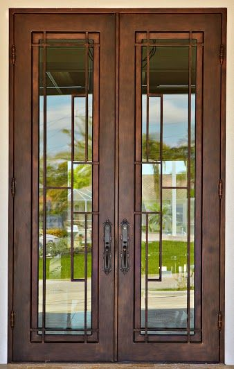 17 Best Images About Modern Wrought Iron Doors On