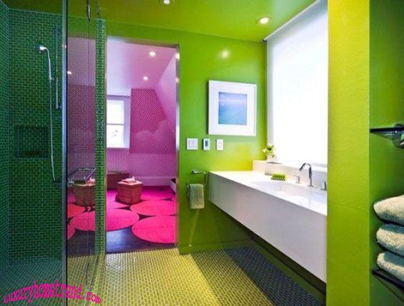 Stylish Bathroom Designs For Teen · Cool Bathroom IdeasColorful ...