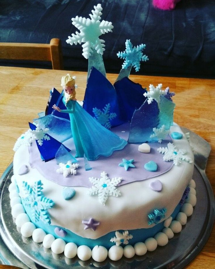 5 Year Old Girl Birthday Cake Awesome Frozen Cake For 5