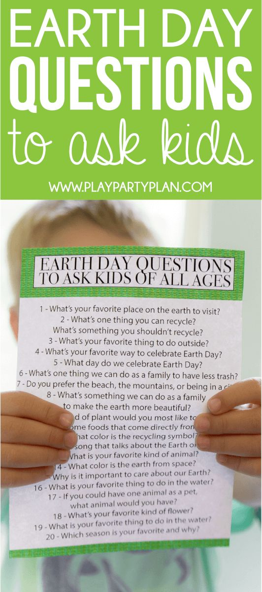 Earth Day quiz questions and activities to do with your kids! Loving this idea of sitting down with your preschooler or older kids and asking these questions! #ILoveGreenWorks Sponsored