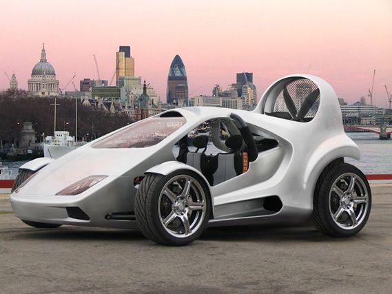 Next Gen Carbon Neutral Flying Cars: The 2010 Parajet Skycar