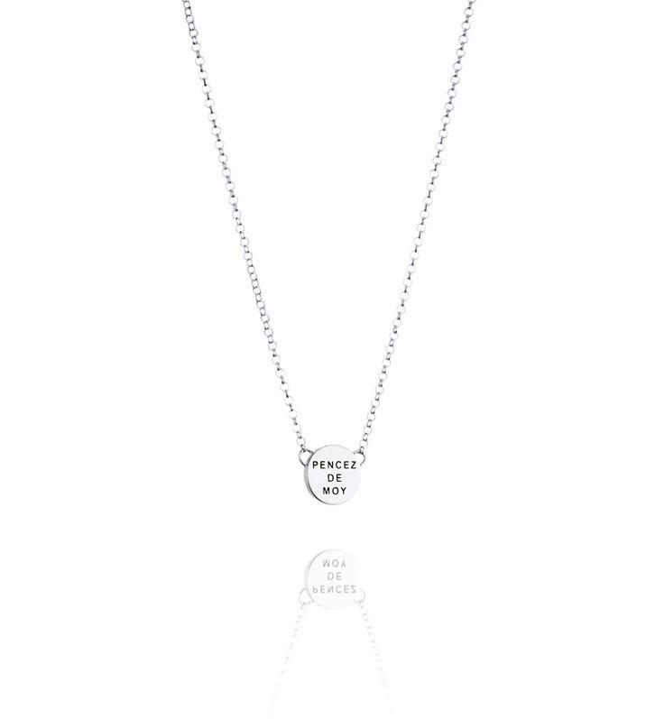 Mini Pencez De Moy Necklace - Silver - Necklace - Efva Attling