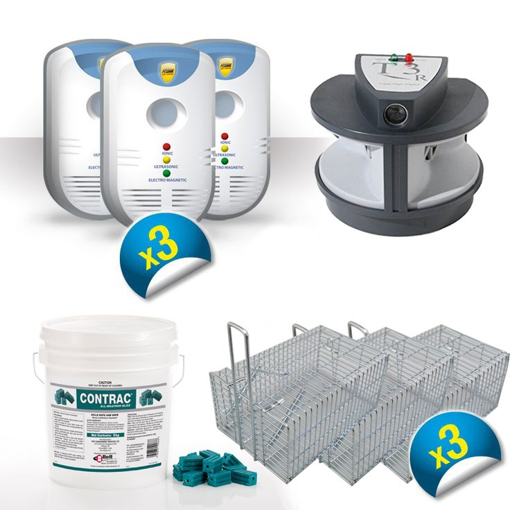 Ultimate Indoor/Outdoor Rodent Protection Package!