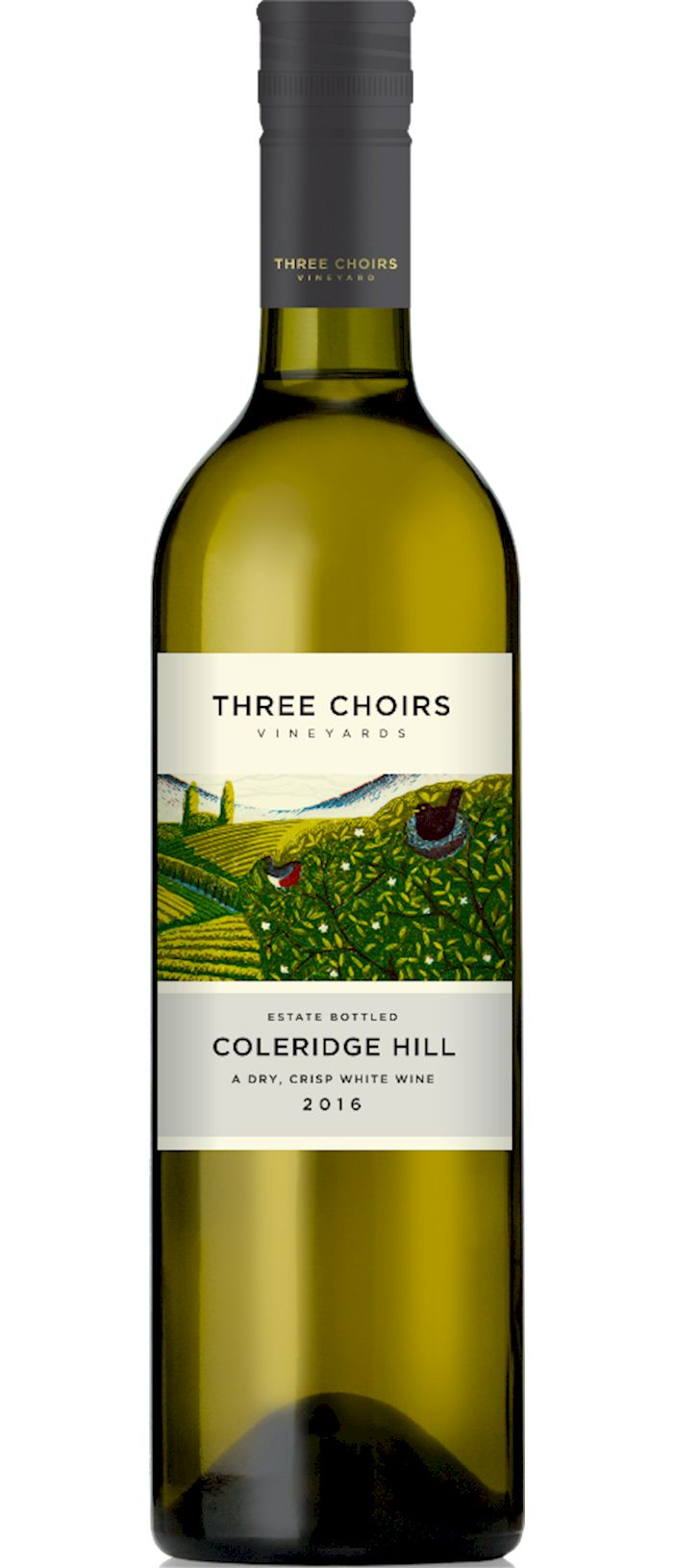 Coleridge Hill, English White Wine from Three Choirs Vineyards - buy direct from their website or from Lower Clopton Farm Shop.