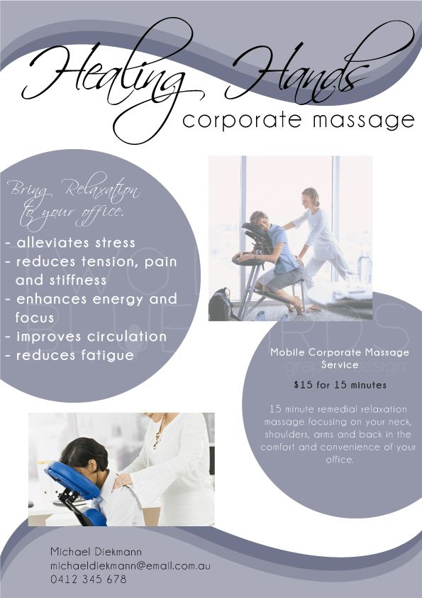 How to increase your business with corporate chair massage?