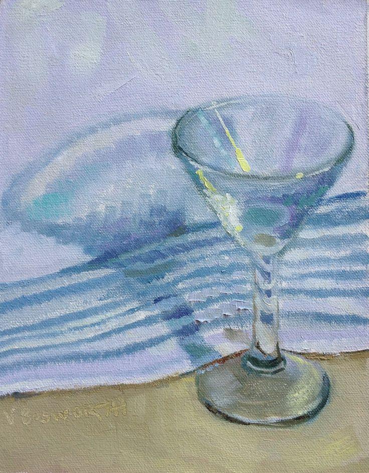 Cocktail 2 Oil on canvas 25 x 20cm