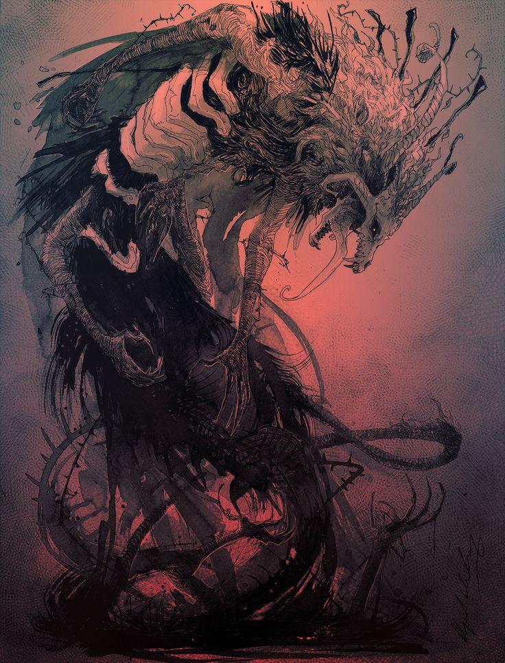 Mahou tsukai no yome | fan art  Child of Shadow