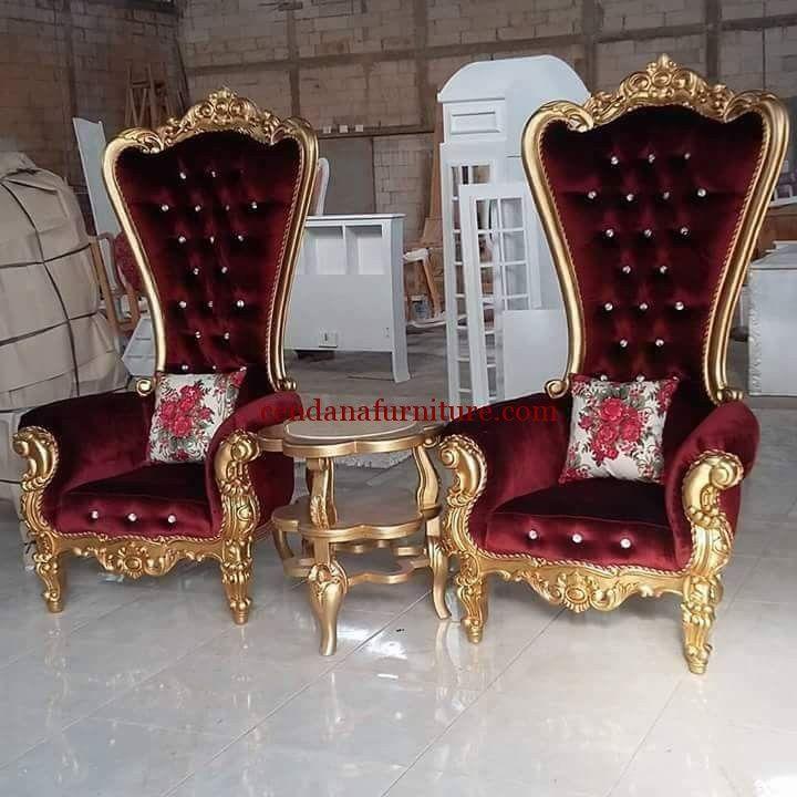 Kursi Sofa Mewah Princess Cinderella
