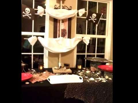 A great video on our Pirate Theme Dessert Table that Kendra made for a little pirate's birthday.  Visit our website for a full line of  services and products that we offer at www.JumpinBeasRentals.com or like us on Facebook at www.Facebook.com/JumpinBeansRentals Thank you for your support!!