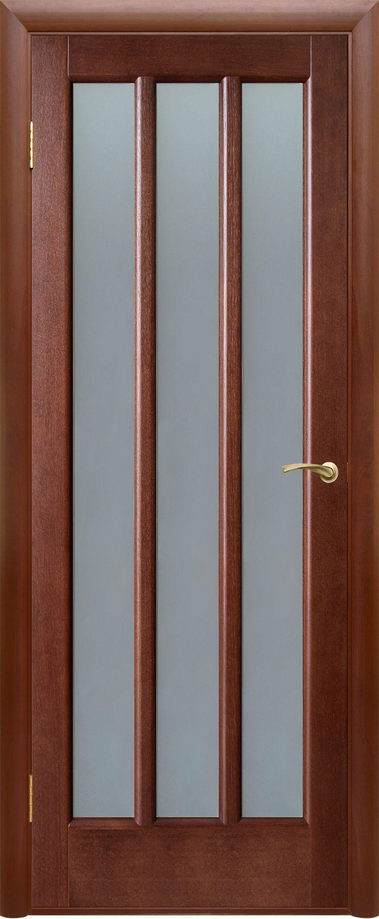 """Межкомнатная дверь """"Троя"""", поо, темный орех"""