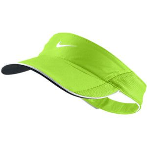 Nike Feather Light Women's Visor - Electric Green, ONE SIZE