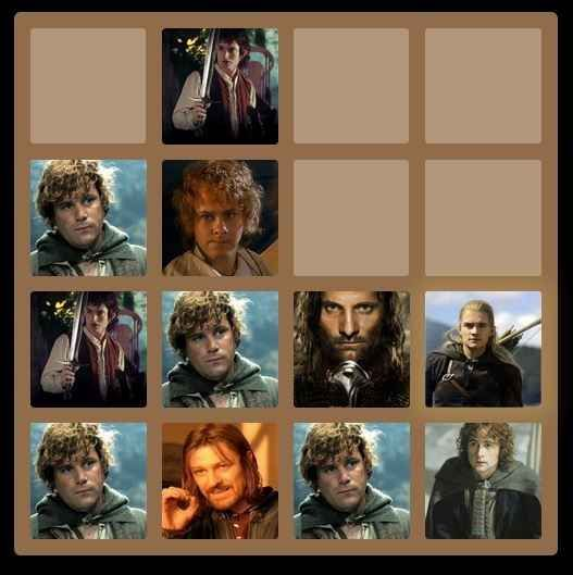 Lord of the Rings | 25 Fantastic Themed Versions Of The 2048 Game To Fuel Your Addiction
