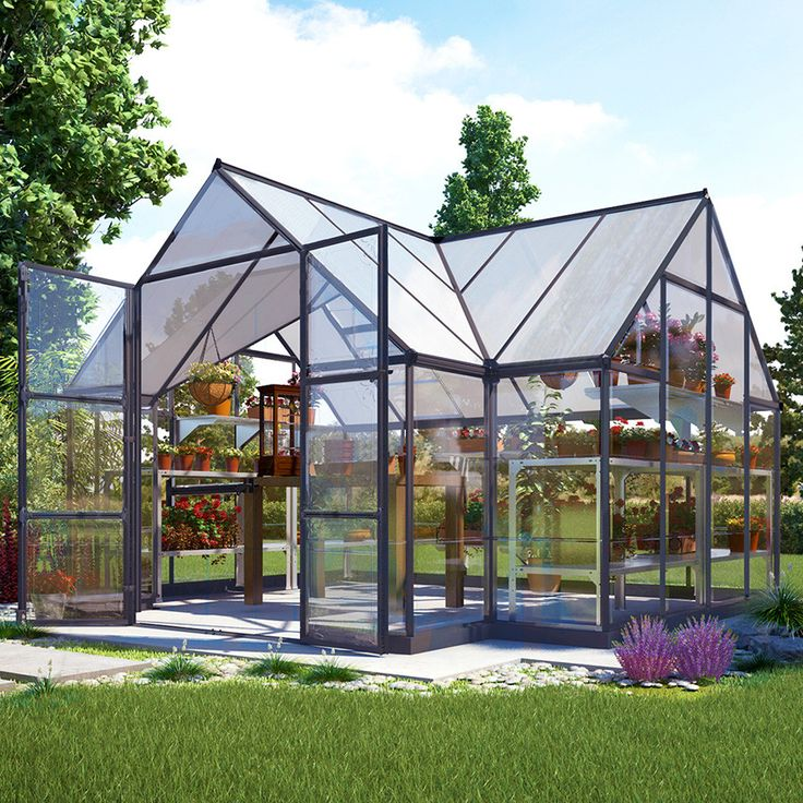 Backyard Greenhouse Ideas inspiration for a contemporary greenhouse remodel in seattle Greenhouse